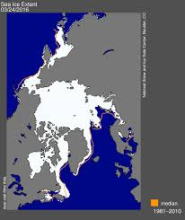 World Map Winter by Another Record Low For Arctic Sea Ice Maximum Winter Extent