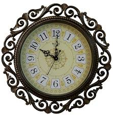 buy sns creations designer round wall clock golden 1 clock u00261