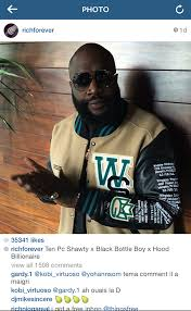Rick Ross Meme - rick ross instagram comments are filled with pear emojis