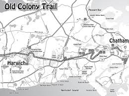 old colony path trail map