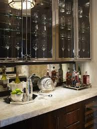 glass kitchen cupboard shelves stainless steel cabinets with glass doors transitional