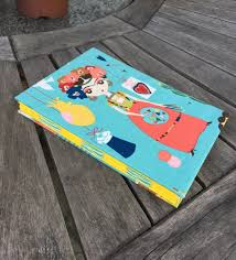 Notebook Cover Decoration Frida Kahlo Notebook Colorful Handmade Notebook Hand Stitching