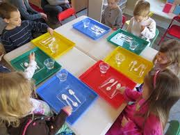 the mystery color experiment baking soda preschool science and