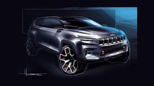 jeep unveils seven new concepts jeep yuntu concept has seven seats plug in hybrid powertrain