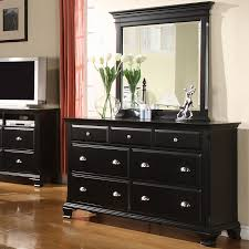 black dresser with mirror decorated with a mirrored dresser 1930