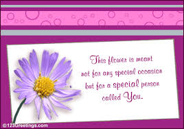you are special free flower week ecards greeting cards 123