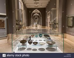 museum islamic art interior galleries stock photos u0026 museum