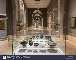 interior of the museum of islamic art cairo egypt stock photo