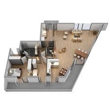 the floor plan 05 3d model cgstudio