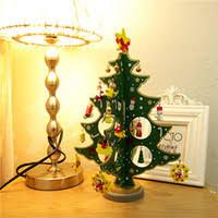 cheap mini wooden tree decorations free shipping mini
