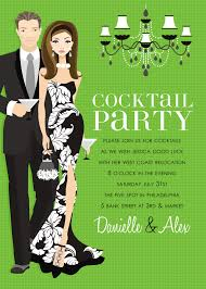 cocktail party invitation wording cloveranddot com