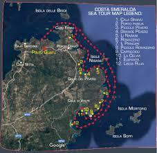 Sardinia Map Porto Cervo Sardinia Map Image Gallery Hcpr