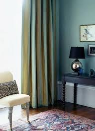 Blue Green Curtains Blue Living Room Blue Green Striped Curtains Animal Pr Flickr