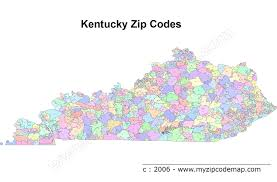 Orlando Fl Zip Code Map Kentucky Zip Code Maps Free Kentucky Zip Code Maps