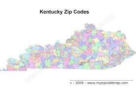 Kentucky Counties Map Kentucky Zip Code Map My Blog