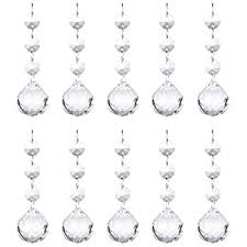 Chandelier Drops Replacement Mishin 4 1 Clear Pendant 3 Octagon With