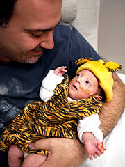 Baby Tiger Costumes Halloween Halloween Treat Parents Preemies Cedars Sinai
