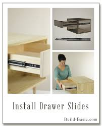 add a drawer under a table build a basic diy drawer build basic