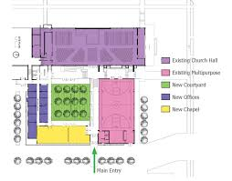 100 catholic church floor plan life center site development