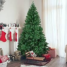 artifical christmas trees best choice products 6 premium hinged artificial