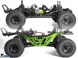 lift kit strc axial scx10 chassis making mega mud truck