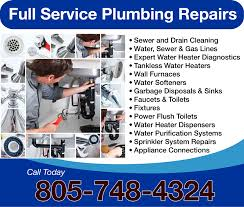 Sewer Gas In Bathroom Plumbers In San Luis Obispo