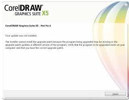 corel draw x5 trial unable to load corelpp dll error code 998
