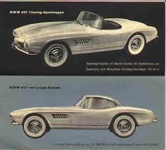bmw 507 roadster 1957 1957 bmw 507 series ii ffcars com factory five racing