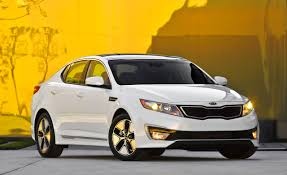 kia vehicles list 2011 kia optima hybrid drive u0026ndash review u0026ndash car and driver