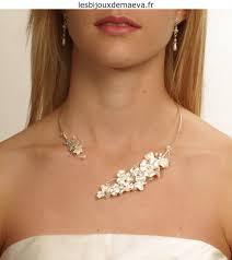 bijoux de mariage bijoux mariage collier fantaisie ouvert pour mariée féerique