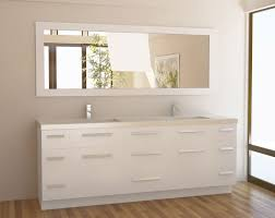 White Bathroom Mirror by Modern White Bathroom Vanity Home Design Ideas And Pictures