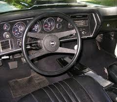 Chevelle Interior Kit 1972 Chevelle Steering Wheels And Door Panels