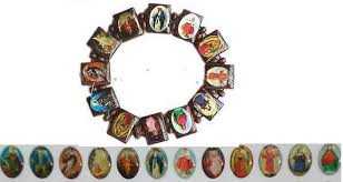 catholic bracelets saints pictures bracelet