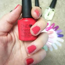 long lasting nail colour cnd shellac marlimakeup