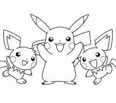 pokemon color pages pikachu good pokemon coloring pages pikachu 91 on free coloring kids with