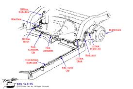c2 corvette parts c2 corvette rear brake lines parts parts accessories for corvettes