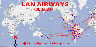 Spirit Airlines Route Map by Image Gallery Lan Airlines Route Map