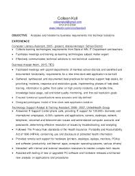 It Business Analyst Resume Sample by Business Analyst Resume Business Analyst Resume Example