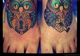 55 magnificent owl tattoos on foot