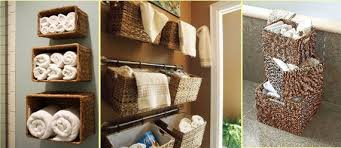 bathroom basket ideas creative bathroom storage ideas so creative things creative