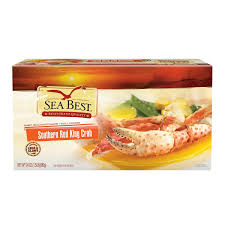 amazon com sea best southern red king crab legs 1 5 pound
