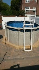 61 best above ground pool installation images on pinterest pool
