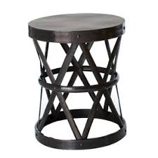 Wood And Metal End Table Metal And Wood End Tables Simple Ideas Metal End Tables Interior