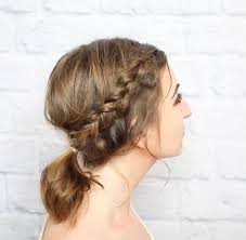 step by step braid short hair 11 beautiful braids for short hair more com
