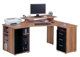 Small Computer Desk With Drawers Mission Arts And Crafts Corner Computer Desk From Dutchcrafters