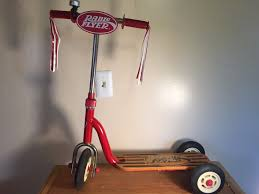 red tiny tricycle radio flyer trike kids bike scooter cycling ride