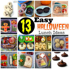 Easy Halloween Party Food Ideas For Kids 13 Easy Halloween Lunch Ideas