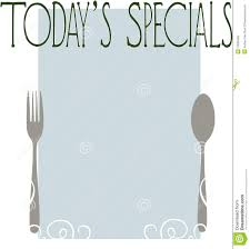 today u0027s specials royalty free stock photo image 13599465