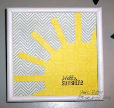 five simple things hello sunshine simple diy wall art