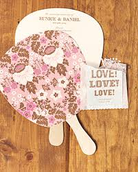wedding paper fans ritzy bee inspiration